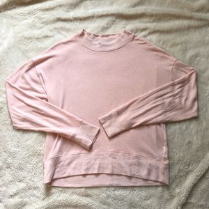 J. Crew Blush Pink Sweater